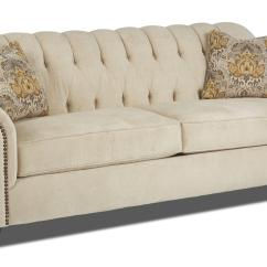 Rolled Arm Sofa With Nailhead Trim Cognac Leather Decorating Ideas Traditional Stationary Arms And