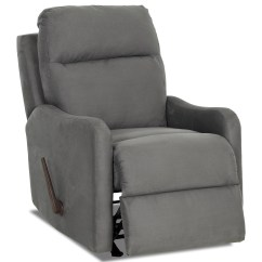 Rocking Reclining Chair Cover Hire Scotland Casual Swivel By Klaussner Wolf