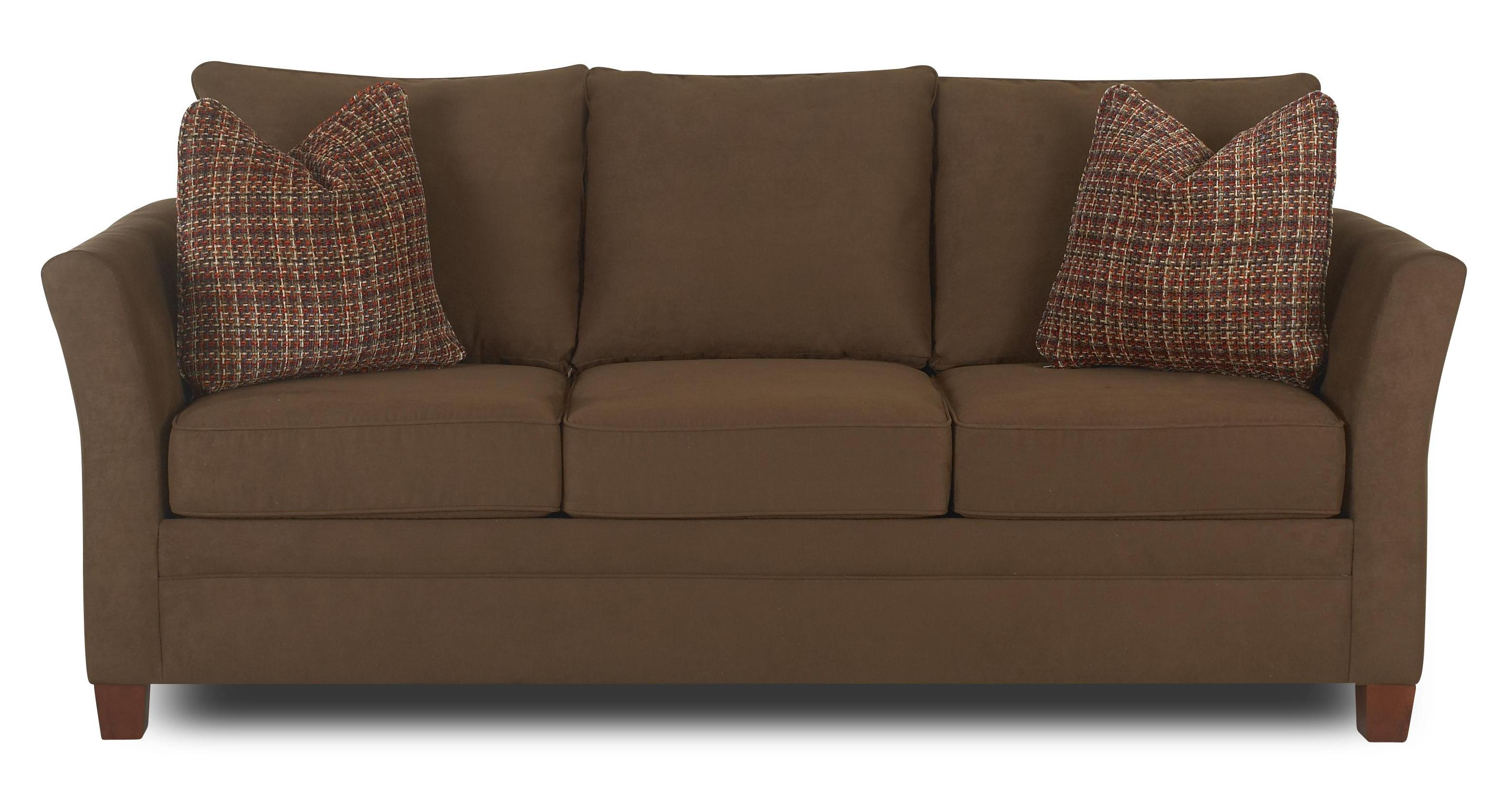 accent pillows for sofa cheap chaise lounge with by klaussner wolf and gardiner