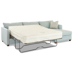 Klaussner Sleeper Sofa Mattress Options Leather Bed Nyc Two Piece Sectional With Laf And Enso