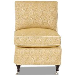 Amazon Accent Chair Covers Counter Height Table And Chairs Traditional Armless With Slipcover By