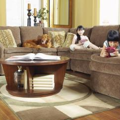 4 Piece Recliner Sectional Sofa Rugs For Brown With Ras Chaise And Full Sleeper By