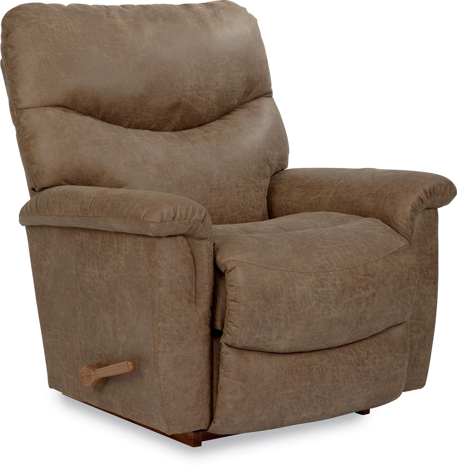 lazy boy rocking chair haworth office chairs faux leather casual reclina rocker recliner by la z