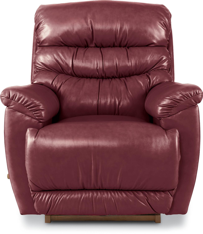 rocking reclining chair round wicker chairs joshua reclina rocker by la z boy wolf