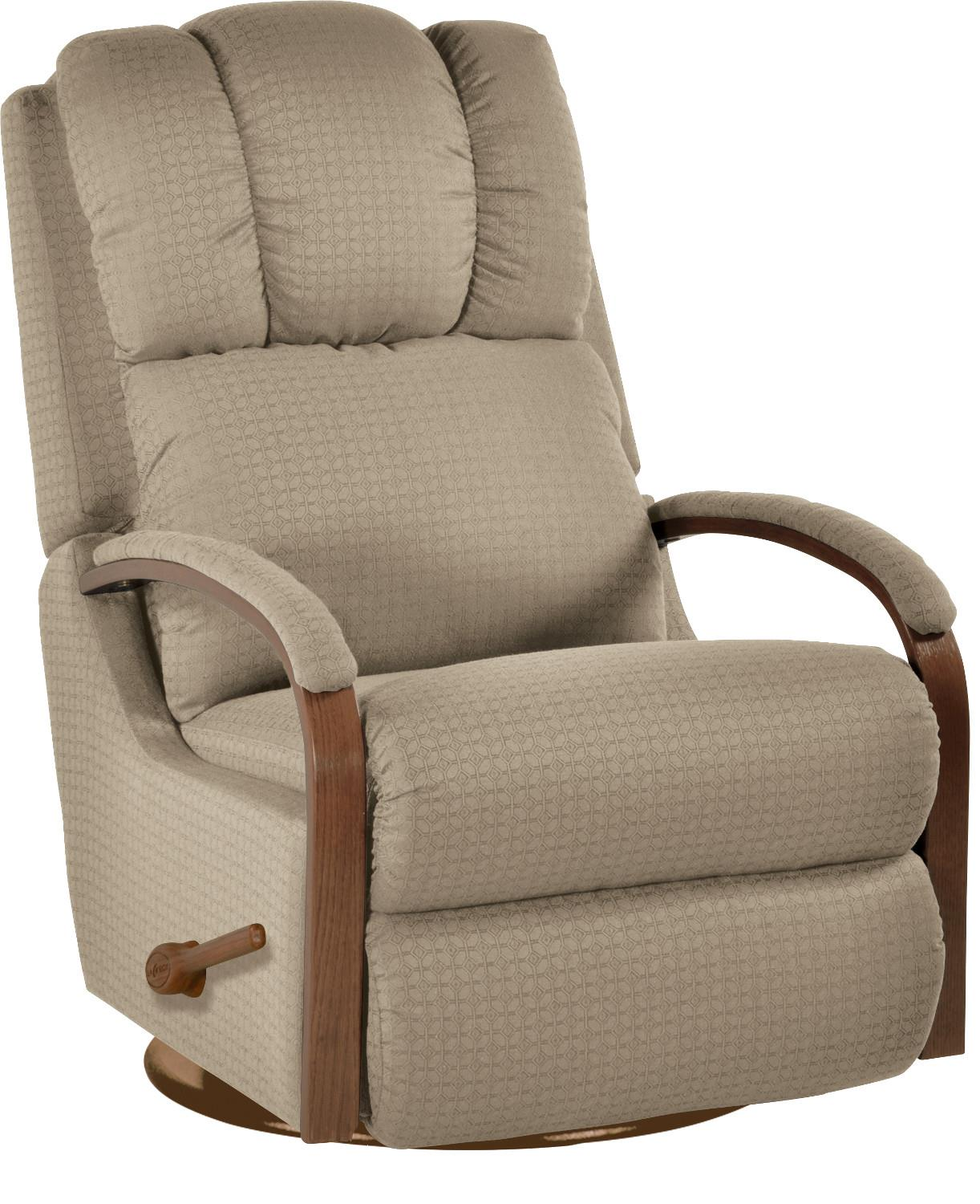 lazy boy glider rocking chair stackable dining chairs harbor town reclina swivel recliner by la z
