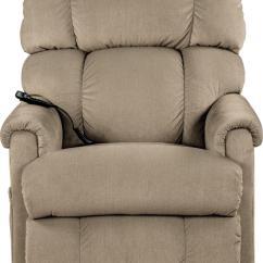 La Z Boy Lift Chair Parts Modern Brown Leather Desk Platinum Luxury Power Recline Xr Recliner By