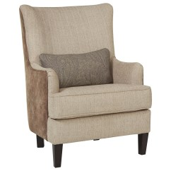 Modern Wing Chair Stiletto Shoe Back Accent With Kidney Pillow By