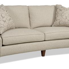 Sofa Nailhead Full Size Minky Flip Contemporary Two Over With Trim By Sam