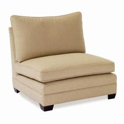 Armless Sofas Single Seat Futon Sofa Bed Large Chair By Sam Moore Wolf And Gardiner