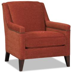 Sam S Club Upholstered Chairs Nursery Glider Chair Contemporary With Nailhead Trim By Moore