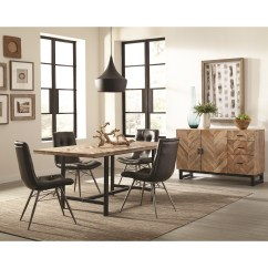 Rustic Dining Room Chairs Ashley Furniture Counter Height Table And Group With Four Retro By Scott