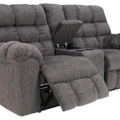 Double Sofa Recliner Knole Sofas On Gumtree Reclining Loveseat With Console And Cup Holders By
