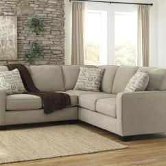 Sofa Ashley Barcelona 2 Cuerpos Sleeper Slipcover Full Piece Sectional With Left Loveseat By Signature Design