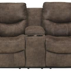 Double Sofa Recliner Child Size Chair Reclining Loveseat With Console By Signature Design