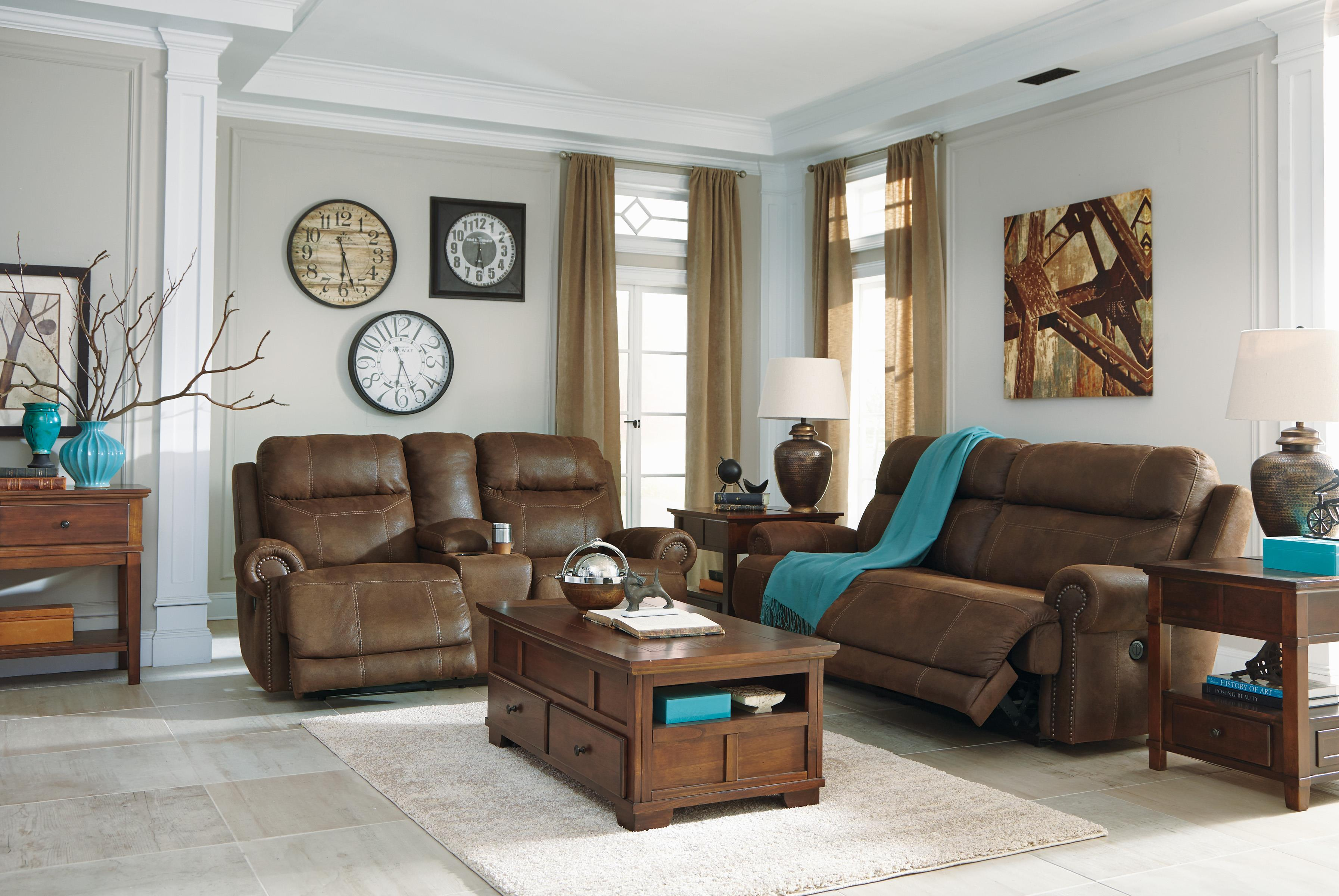 nailhead trim sofa ashley covers for 3 seater 2 seat reclining power with rolled arms