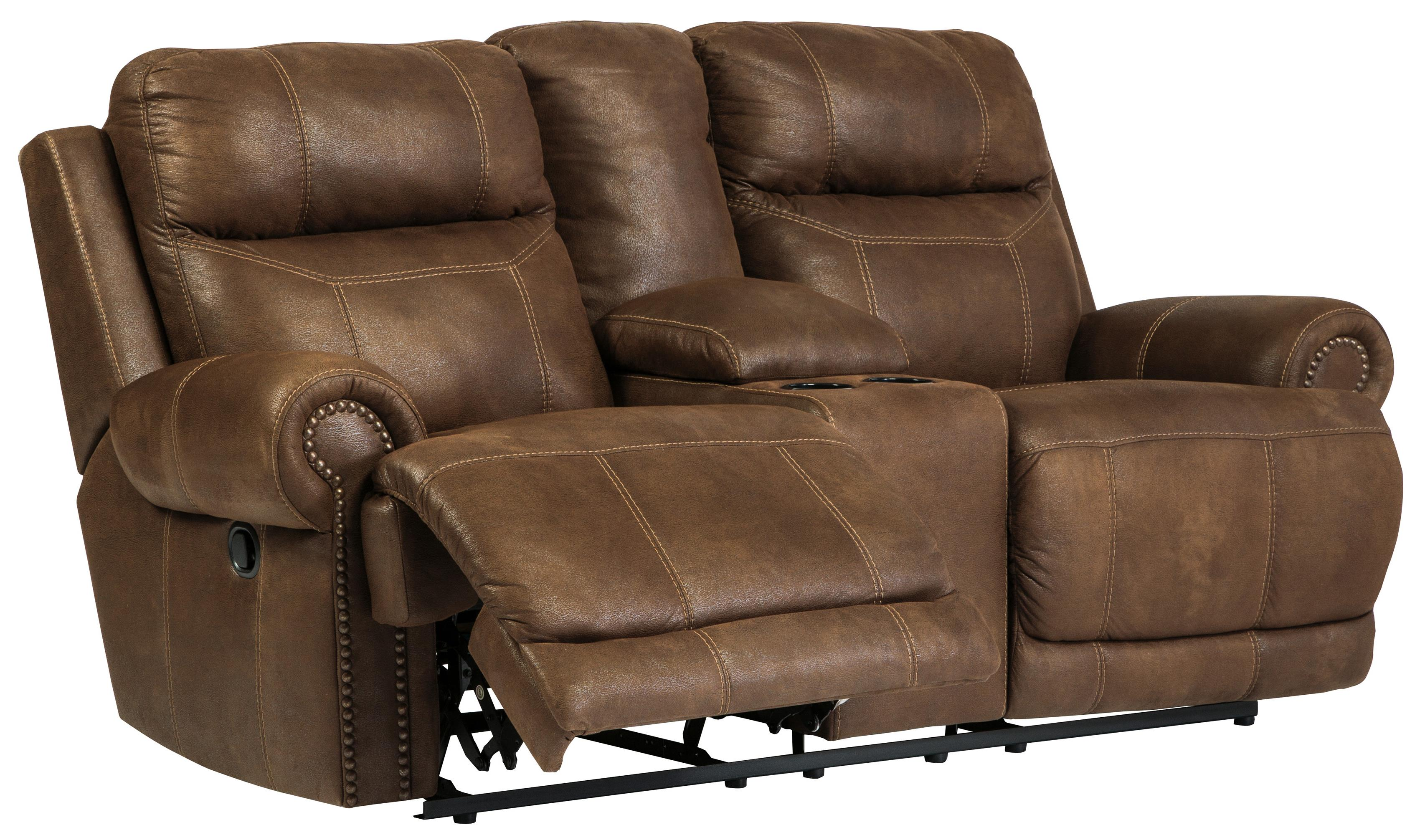 dual reclining sofa and loveseat room board ian review double w console power by signature