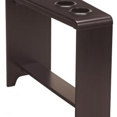 Chair Side End Table With Cup Holder Dining Seat Covers Target 2 Holders Powerstrip And Usb