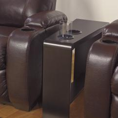 Chair Side End Table With Cup Holder Cheap Folding Chairs For Sale 2 Holders Powerstrip And Usb