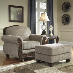 Bedroom Chair With Skirt Hickory Twin Beds Traditional And Ottoman Showood Trim By Signature