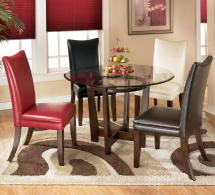 5 Piece Dining Table Set With 4 Color