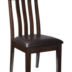 Accent Chairs For Dining Room Table Vinyl Chair Covers 9 Piece Rectangular W Oak Veneers And