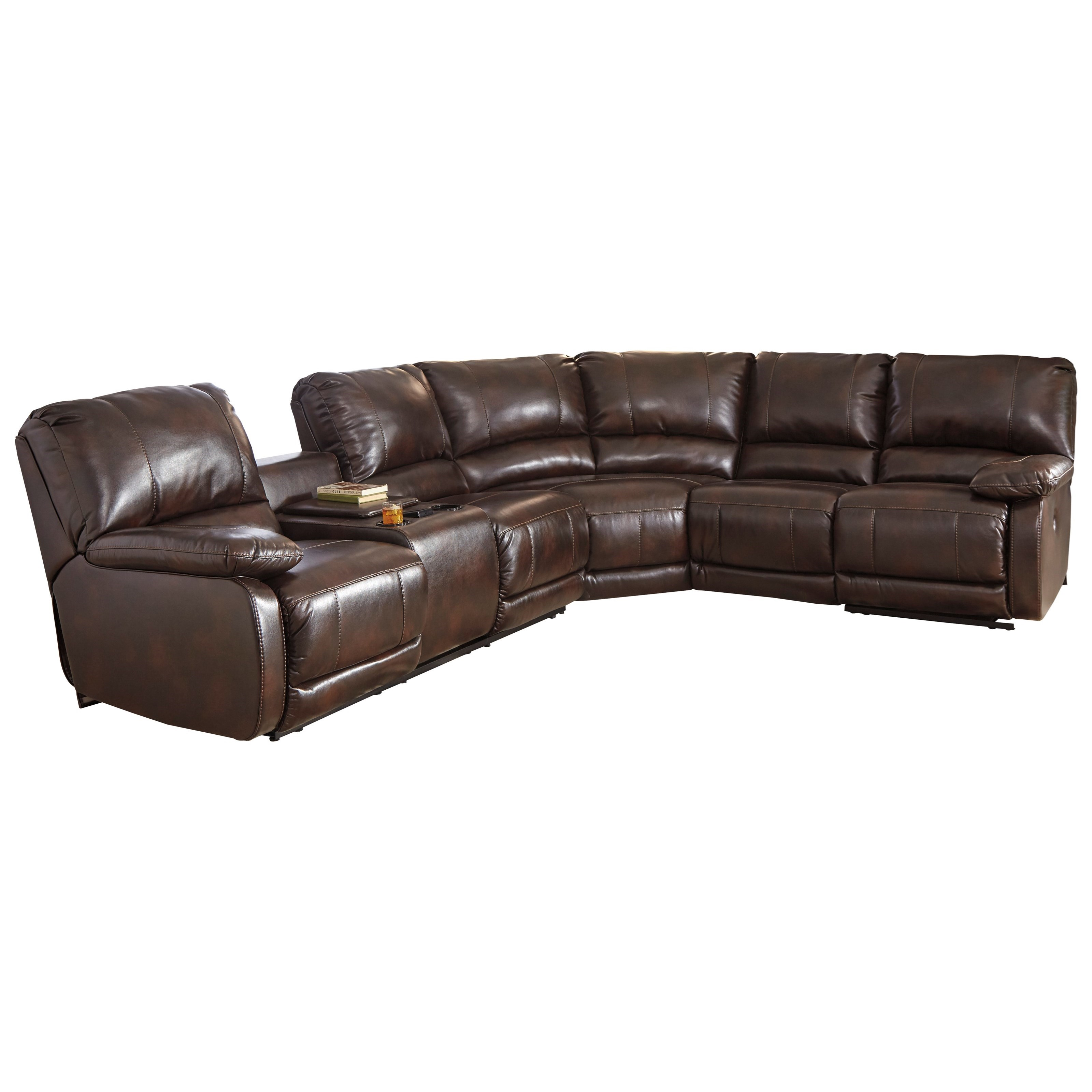 power reclining sofa with cup holders old set in pune on olx sectional massage heat and