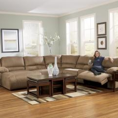 Room And Board York Sofa Bubble 6 Piece Motion Sectional With Left Chaise Console By