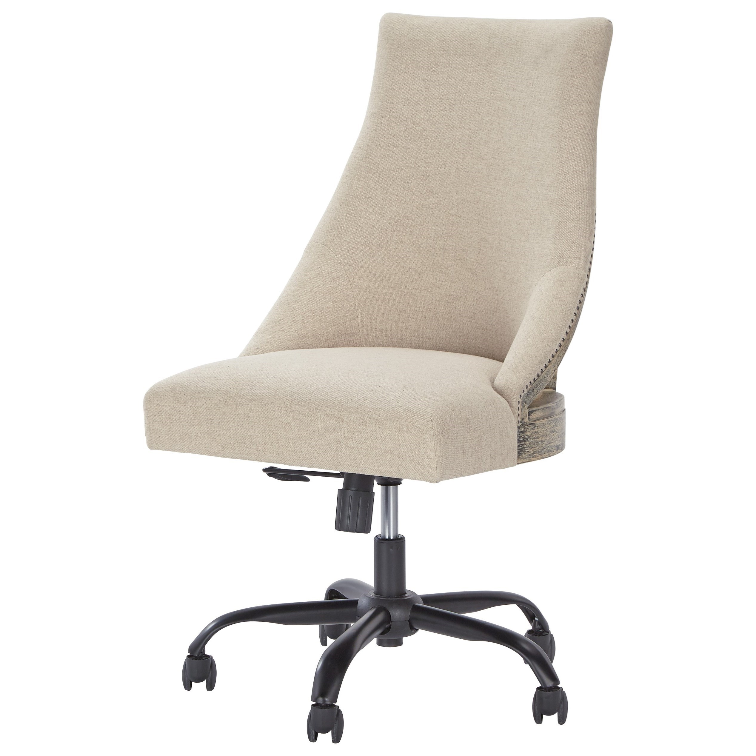 Swivel Desk Chairs Home Office Swivel Desk Chair In Deconstructed Style By