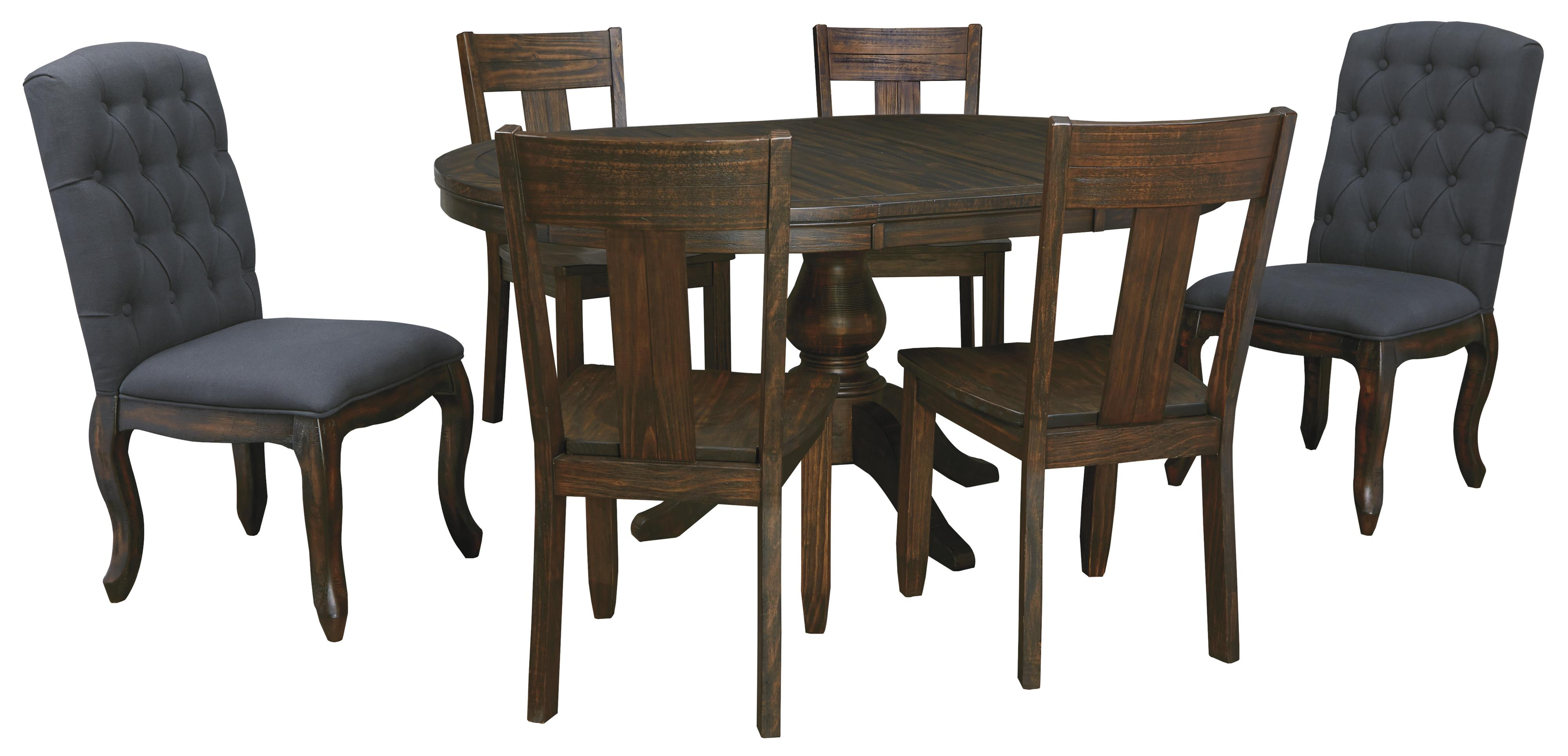 Dining Chairs Set 7 Piece Oval Dining Table Set With Upholstered Chairs