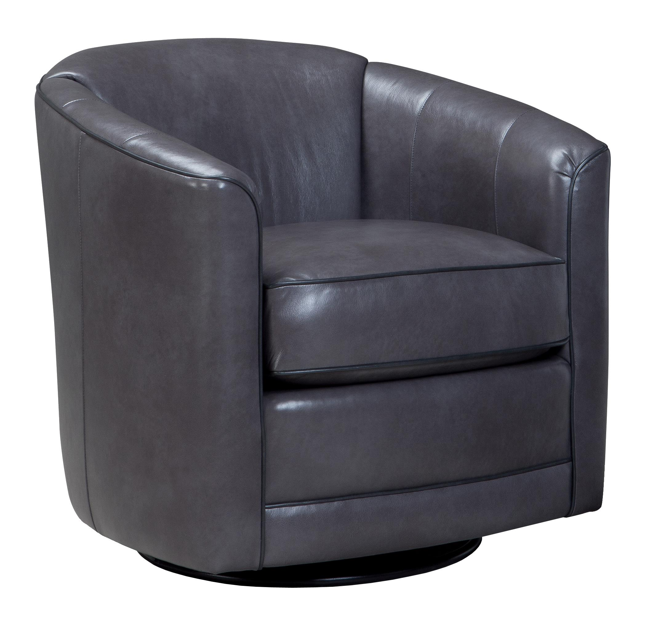 Swivel Glider Chairs Swivel Glider Chair With Barrel Back By Smith Brothers