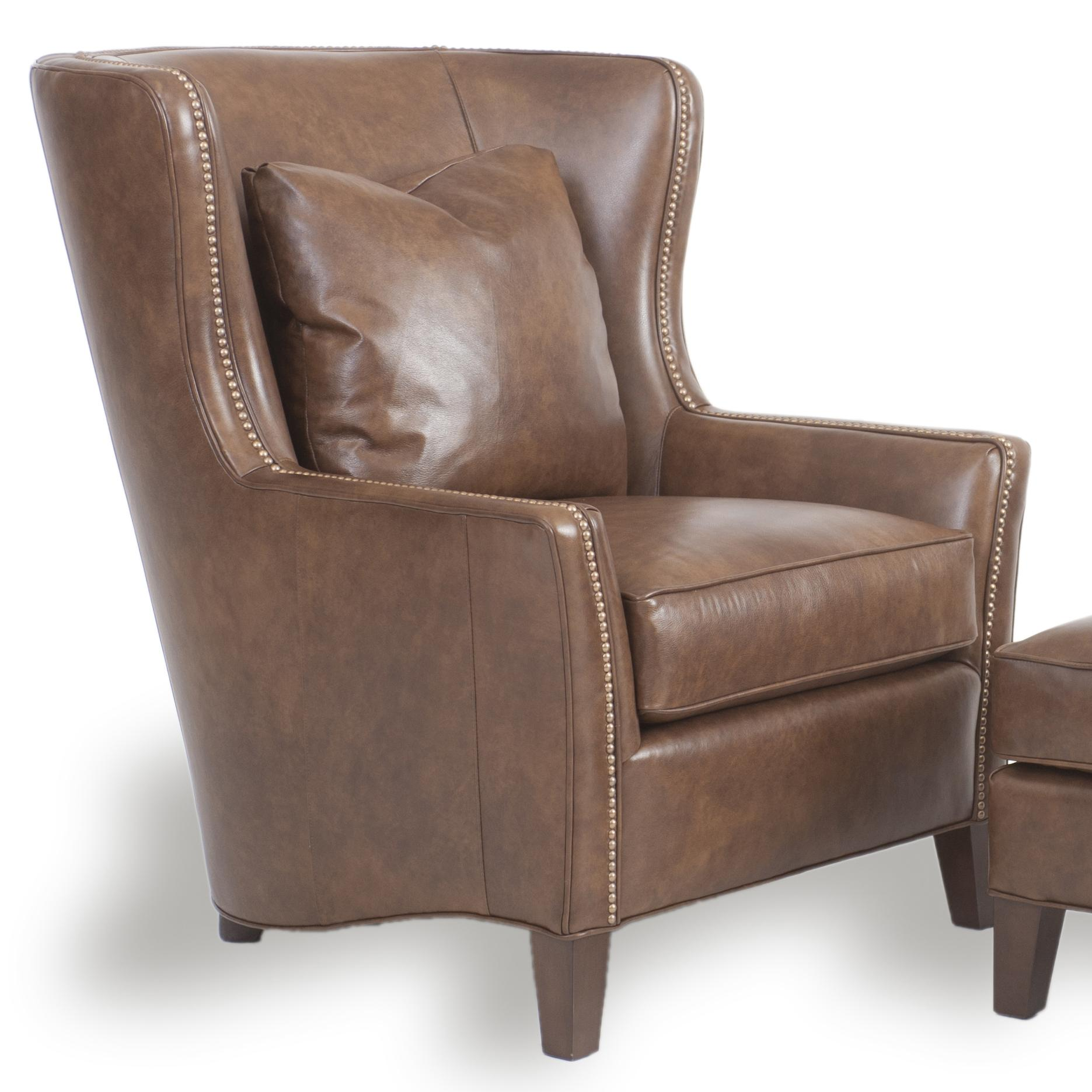 Wingback Chair Wingback Chair And Ottoman By Smith Brothers Wolf And