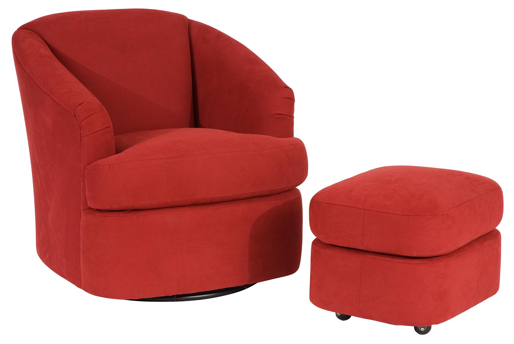 Barrel Swivel Chair Contemporary Barrel Swivel Chair By Smith Brothers Wolf