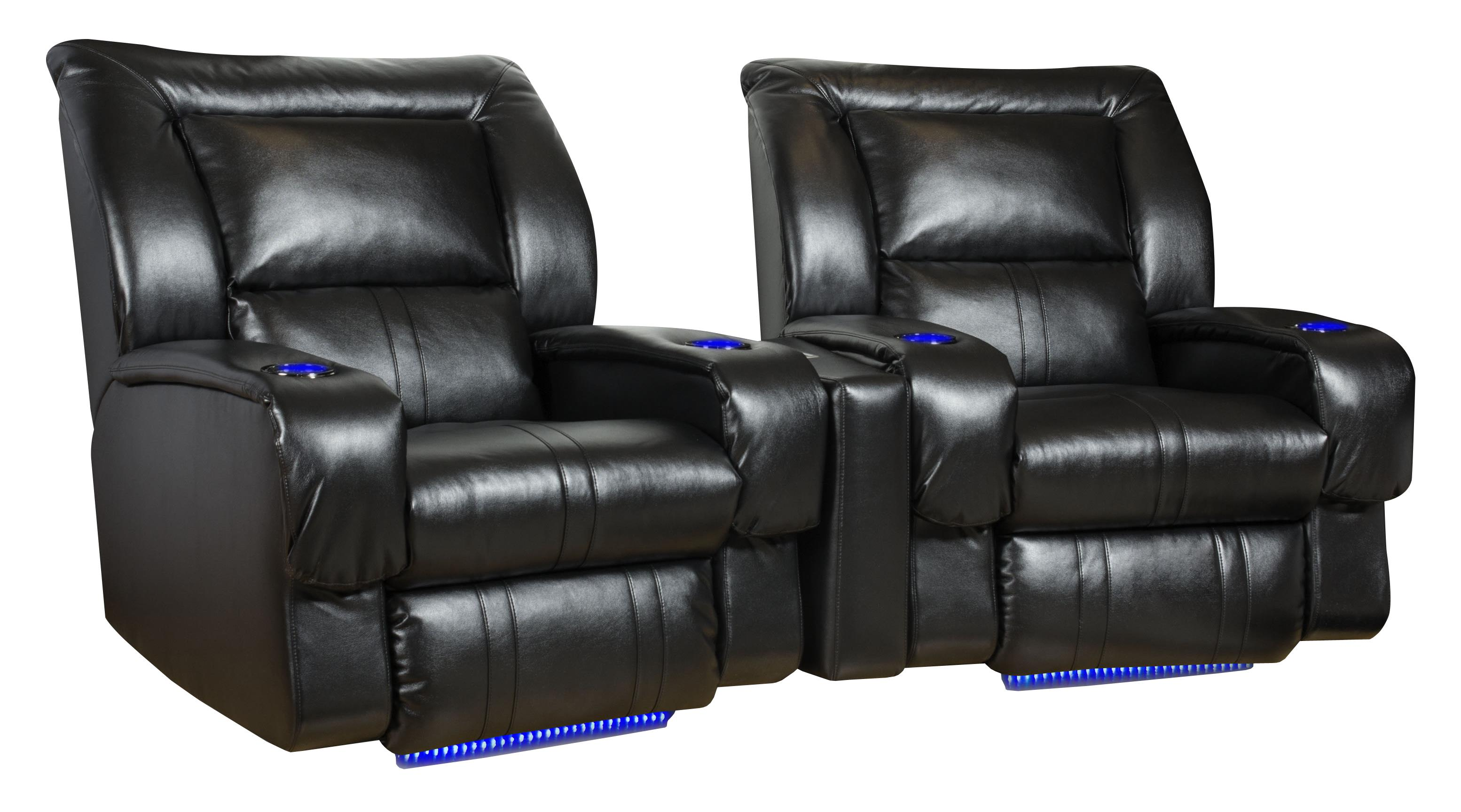 2 seat theater chairs twin sleep chair seating arrangement wall hugger with seats