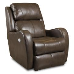 Wall Hugger Recliner Chair Lee Industries Chairs Siri With Power Headrest By Southern