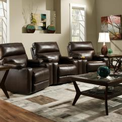 Theater Chairs With Cup Holders Amazon Desk Chair Seating Group 3 Wall Recliners And