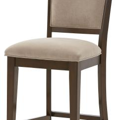 Wheelchair Height Pottery Barn Anywhere Chair Counter With Upholstered Seat And Back