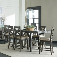 Counter Height 7-Piece Dining Room Table Set by Standard ...