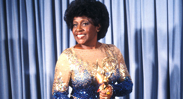 PASADENA, CA - SEPTEMBER 13: Actress Isabel Sanford attends the 33rd Annual Primetime Emmy Awards on September 13, 1981 at the Pasadena Civic Auditorium in Pasadena, California. (Photo by Ron Galella/Ron Galella Collection via Getty Images)