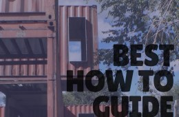 HOW TO GUIDE TO BUILD A CONTAINER HOME