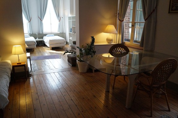 Sleeping rooms of The Captaincy, Brussels