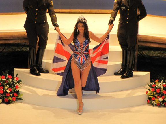 Miss England, photo credit by Serge. Brits accounted for overstay cases in 2015.