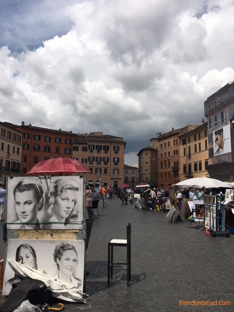 Piazza Navona has to be the highlight of any Rome trip