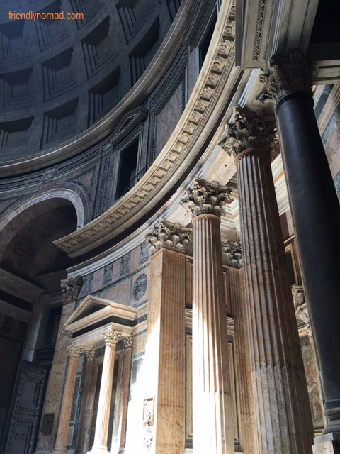 The Pantheon is a marvel of ancient design and endurance