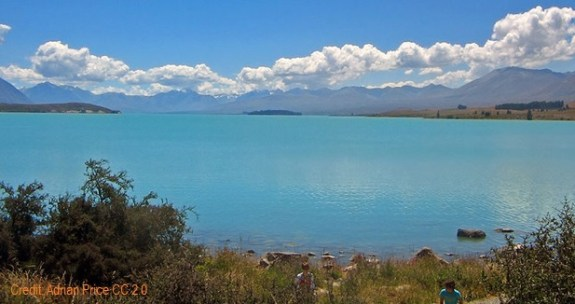 Another Kiwi Backpacking must - Soak up the tranquility of the South Alps and Lake Tekapo