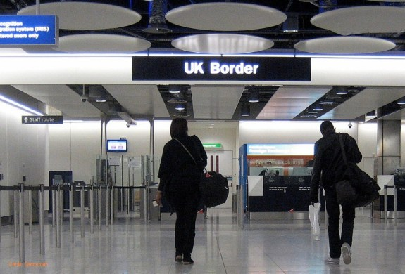 UK border control officials can be very aggressive