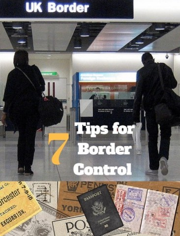 Do your homework before border control to reduce stress