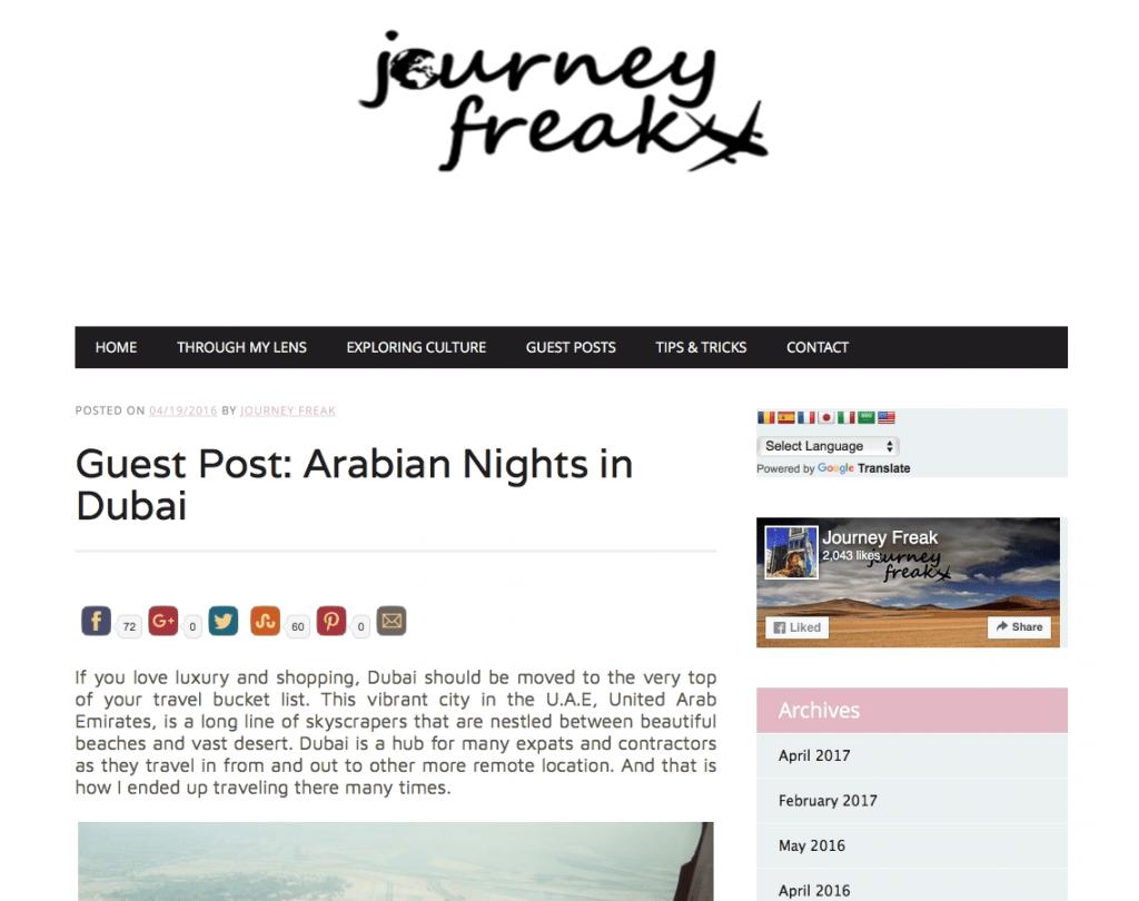 FunkTravels Dubai U.A.E.