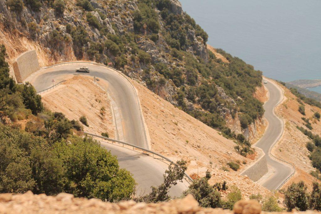 Turkey Kalkan Roads