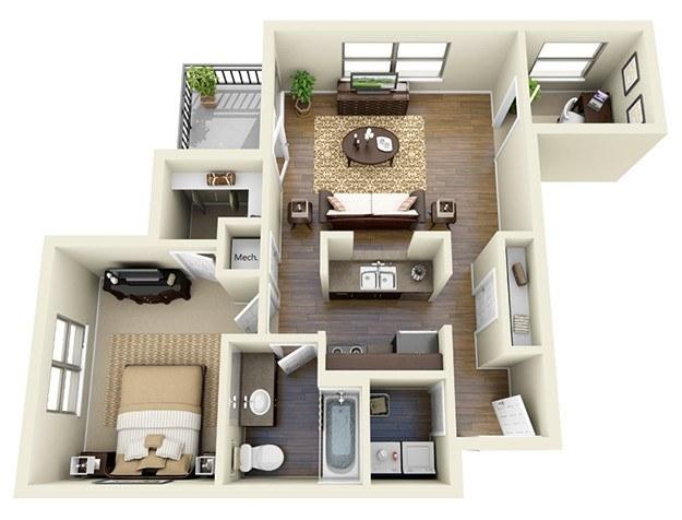 affordable 1 & 2 bedroom apartments in atlanta, ga