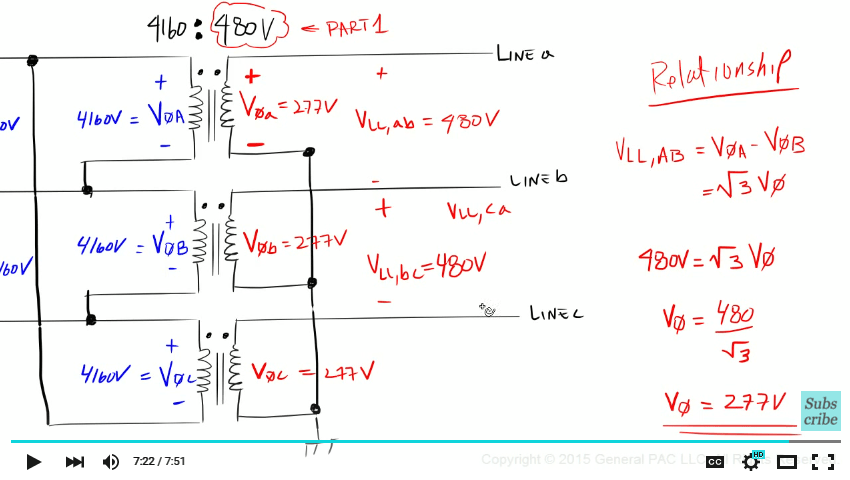 Wiring Diagram 3 Phase Delta Wye Transformer Connection Diagram